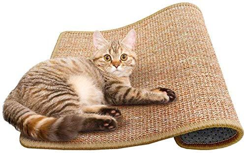 Cat Scratching Mat Sisal Mats Cat Scratching Pad Carpet Cat Scratch Rug Floor Cat Scratchers Sisal Fabric Sisal Carpet Cat Scratching Post Replacement Sisal Fabric Scratching Post 118 157