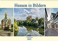 Hessen in Bildern (Wandkalender 2022 DIN A2 quer): Professionelle Fotos geben einen Einblick in traumhafte Landschaften mit historischen Gebaeuden von Hessen (Monatskalender, 14 Seiten )