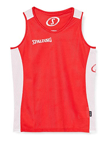Spalding Essential Reversible Basketball Shirt rot-weiß rot/weiß, XXL