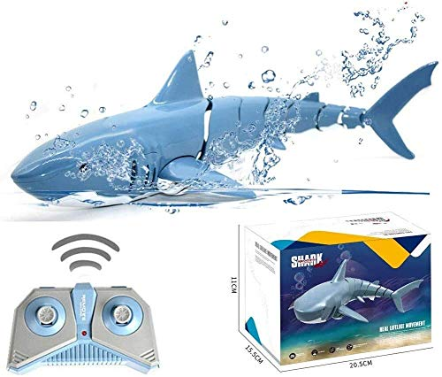 YQGOO RC Shark Toys Remote Control Shark Car, Underwater Submarine Waterproof Small Shark Fish Kids Toys Gifts for Boys Girls
