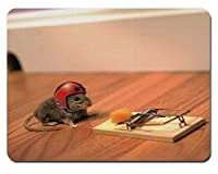 Doesn 't Kill You Makes You Stronger Mouser Rectangular Mouse Pad Size:9.4' x7.9' RB121 [並行輸入品]