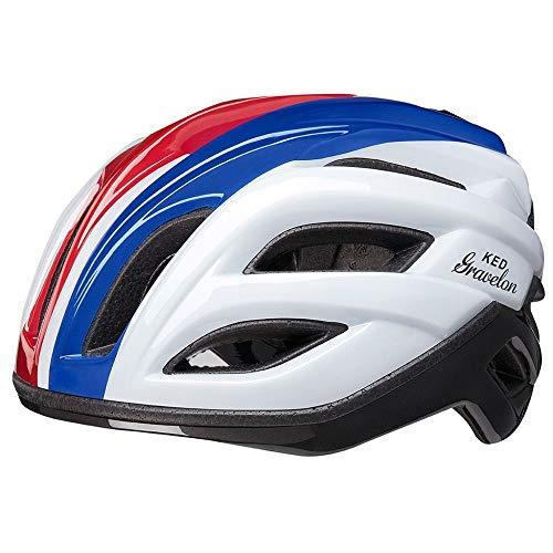 KED HELMETS Gravelon - Casco da bicicletta/E-Bike/MTB/VTC, unisex, tricolore, L 58-61 cm