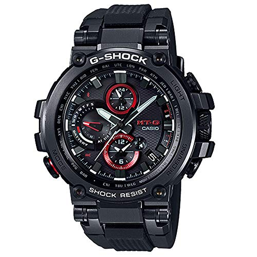 G-Shock By Casio Men's Analog MT-G MTGB1000B-1A Analog-Quartz Stainless Steel Watch Black