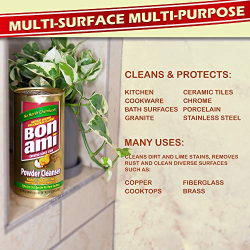 Bon Ami Powder Cleanser - 14 oz (Pack of 6)