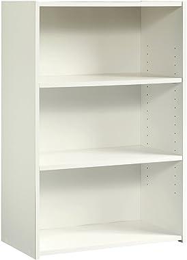 Sauder Beginnings 3-Shelf Bookcase, Soft White finish