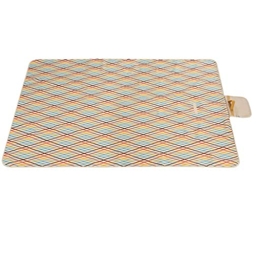 Great Features Of Picnic mat Camping mat Outdoor Portable Folding Beach Tent Mat Picnic Cloth Lawn M...