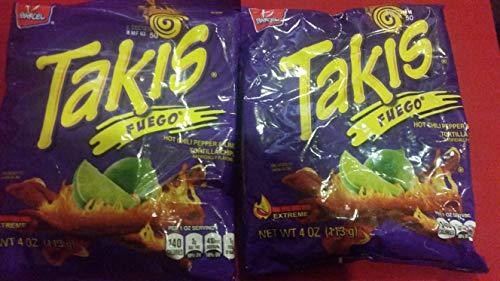 Takis 812615 Wholesale Takis Fuego Corn Tortillas 4Oz X