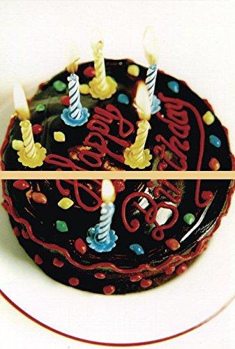 Close Up Postkarten-Puzzle Happy Birthday (Torte) (0cm x 0cm)
