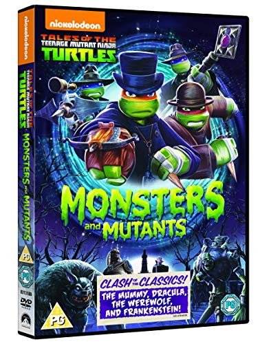 Tmnt Monsters & Mutants [Edizione: Regno Unito] [Reino Unido] [DVD]