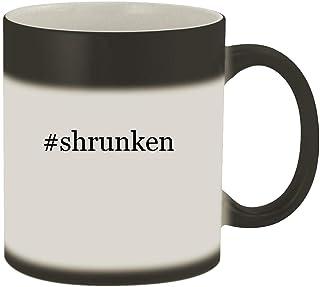 #shrunken - 11oz Hashtag Magic Color Changing Mug, Matte Black