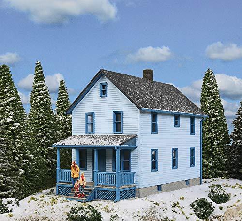 Walthers Cornerstone HO Scale Model Story Frame House Kit, 1/16' 12.7 x 6.3 x 10.3cm