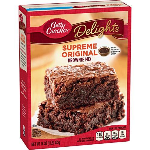 Betty Crocker Delights Supreme Original Brownie Mix 16 oz