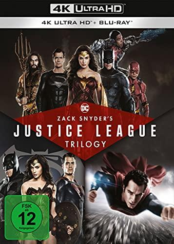 Zack Snyder's Justice League Trilogy (4 4K Ultra HD) (+ 4 Blu-ray 2D)