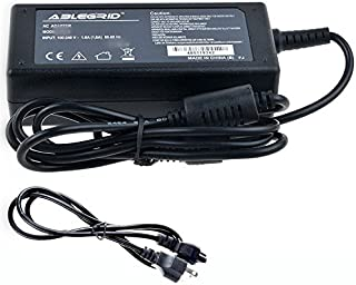 ABLEGRID AC/DC Adapter for Samsung UD590 LU28D590 LU28D590DS/ZA 28 UHD 4k LED Monitor Color Display Unit Power Supply Cord Cable PS Charger Mains PSU
