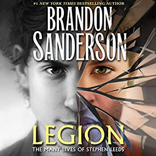 Legion: The Many Lives of Stephen Leeds audiobook cover art