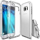Funda Galaxy S7, Ringke [FUSION] Choque Absorción TPU Parachoques [Choque Tecnología Absorción][Conviviente tapón antipolvo] para Samsung Galaxy S7 - Crystal View