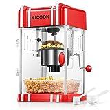 Popcorn Machine, AICOOK Hot Oil ...