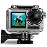 【SPECIALLY DESIGNED】Specially Designed for DJI Osmo Action Camera: Upgraded quality and professional design, fully fit for Osmo Action Camera. 【High Transparent Material】 Made of high quality PMMA plastic which is strong structure, protect your lens ...