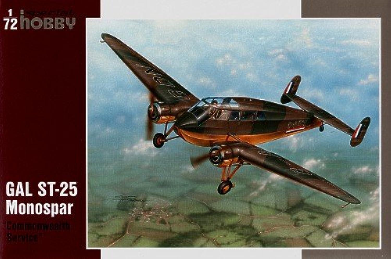 Unbekannt Special Hobby SH72171 - Gal ST-25 Monospar Flugzeug B001KSITRM Angenehmes Aussehen  | Spielzeugwelt, spielen Sie Ihre eigene Welt