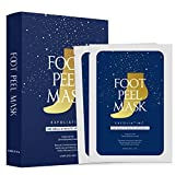 Best Foot Peels - 2 Pairs of Foot Peel Mask for Cracked Review