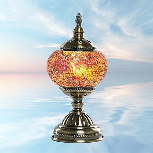 Geefsuhl Tafellamp, bureaulamp, prachtige hand, mozaïek, Marokko, Turks, Bohème, tafellamp, bedlampje, lampenkap, decoratie