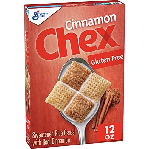 General Mills Cereals Cinnamon Chex Cereal, Gluten Free, 12 Oz