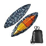 Best Fishing Ocean Kayaks - GYMTOP 7.8-18ft Waterproof Kayak Canoe Cover-Storage Dust Cover Review