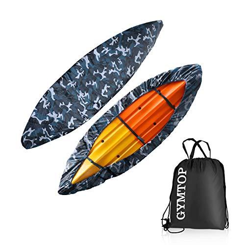 GYMTOP 7.8-18ft Waterproof Kayak Canoe Cover-Storage Dust Cover UV...