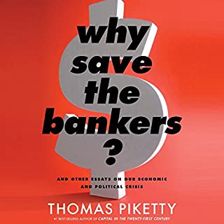Why Save the Bankers? cover art