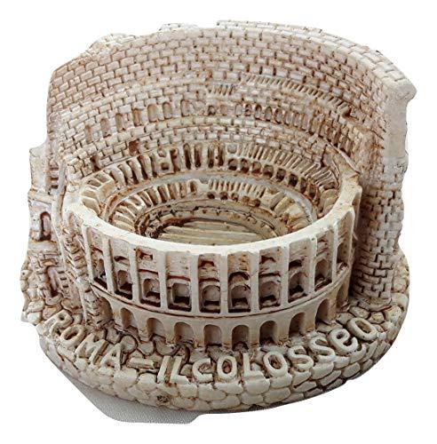 Souvenir Small Colosseum Model Statue Rome Miniature Italy Italian Republic Roma