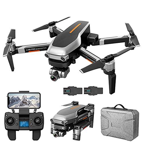 XIAOKEKE GPS 4K Drone Quadcopter Pieghevole con FPV Ad Alta Definizione Grandangolare modalità di Mantenimento Altezza della Telecamera (2 Batterie)