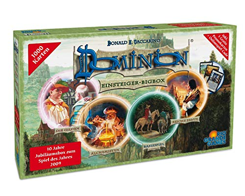 Rio Grande Games 1415 - Dominion: Einsteiger-Bigbox