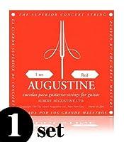 AUGUSTINE ( オーガスチン ) RED / ミディアムテンション ナイロン・クラシック弦