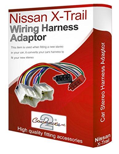 Connects2 Câble Adaptateur ISO pour autoradio stéréo CD de Nissan X-Trail