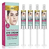 2 Pack Rapid Reduction Eye Cream, Quick Repair Eye Cream, Eye Bags Treatment - Right Time Instant Results within 5 minutes - Reduces Appearance of Fine Lines and Under Eye Bags