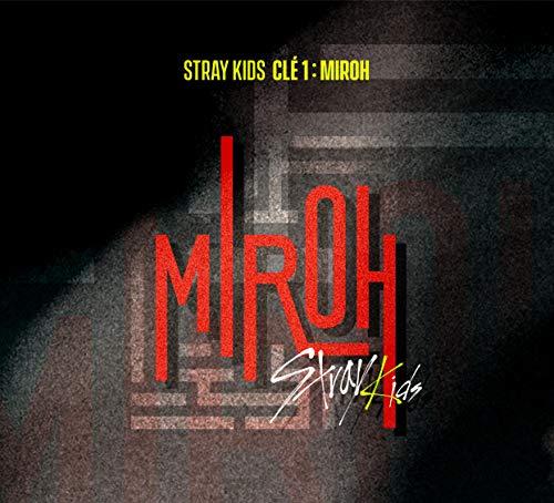 JYP Stray Kids - Clé 1 : MIROH [Standard-Clé 1 ver.] 1CD+Photobook+3QR Photocard+Folded Poster+Double Side Extra Photocards Set
