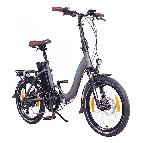 "NCM Paris 20"" E-Bike, E-Faltrad, 36V 15Ah 540Wh Anthrazit"