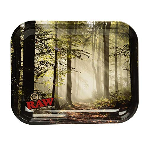 Forrest Large Metal Rolling Tray