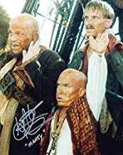 MARTIN KLEBBA as Marty - Pirates Of The Caribbean GENUINE AUTOGRAPH