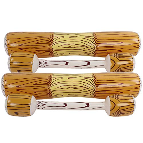 03 Juguete Plegable para Piscina, Juego de Flotador Seguro Compacto, ecológico, no tóxico, para Adultos, niños(Wood Color)