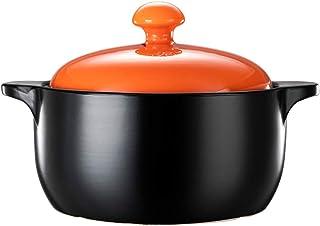 Casseroles Ceramic casserole Open flame high temperature resistant Home stewing, cook casserole Nutritious porridge cookwa...