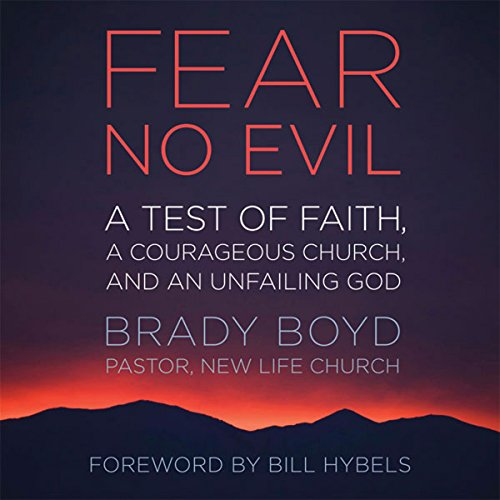 Fear No Evil audiobook cover art