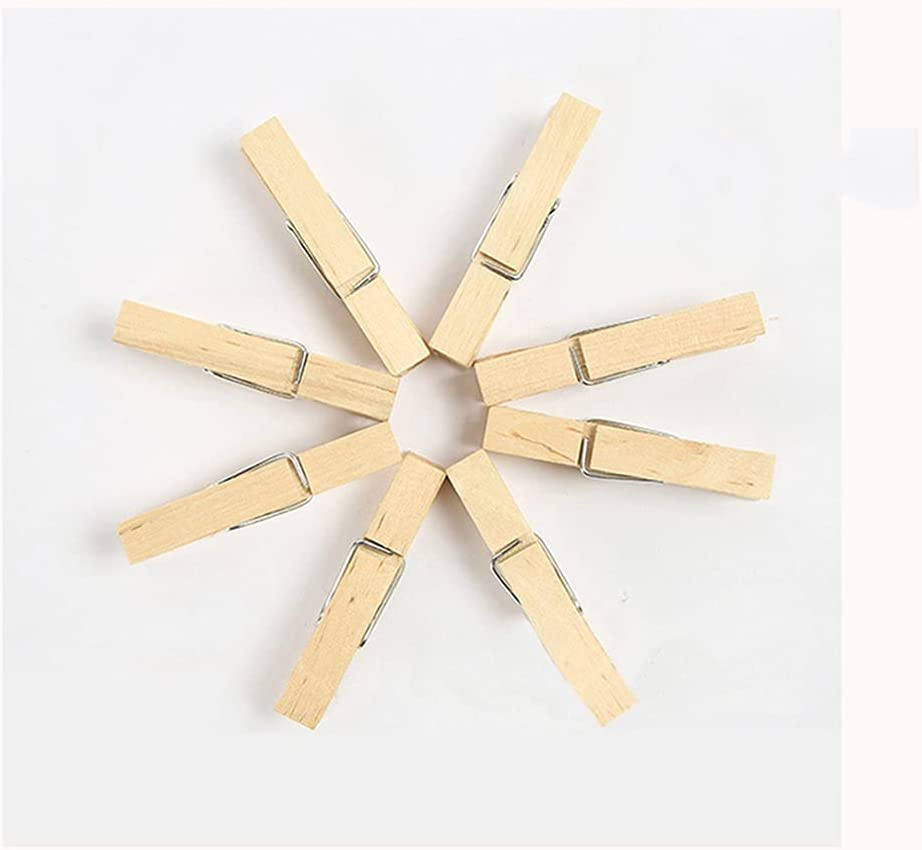 DEI QI 60 New sales Pack Wooden Small Clothespins 2.2 Ranking TOP15 0.3 X
