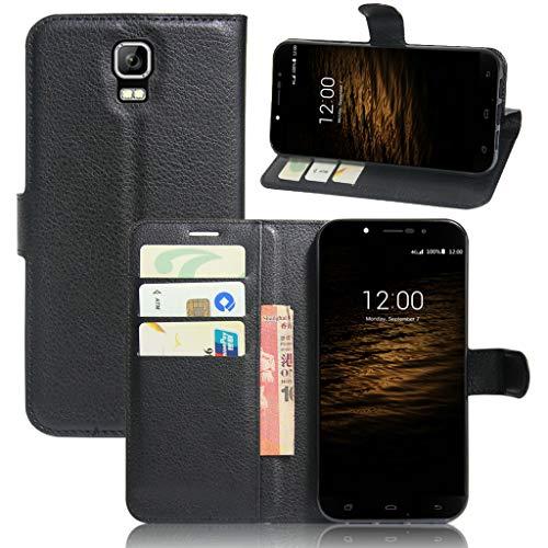 Litao-Case CN Hülle für UMI Rome hülle Flip Leder + TPU Silikon Fixierh Schutzhülle Case 6
