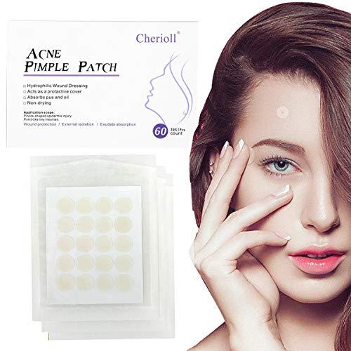 Parches de acné, pegatinas de acné, acné, espinillas, espinillas, puntos negros