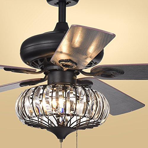 Warehouse of Tiffany CFL-8306 Ceiling Fan, 52'
