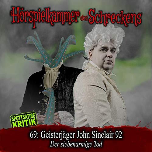 『Geisterjäger John Sinclair 92 - Der siebenarmige Tod』のカバーアート
