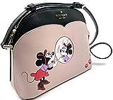 Kate Spade Minnie Mouse Dome Crossbody (Pale Vellum Multi)