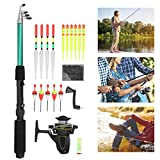 Zhjvihx Fishing Rod Reel Set, High‑Density Carbon Fiber Easy to Use Fishing Rod Reel Combos Excellent Slip Resistance for Fishing Enthusiasts for Beginner