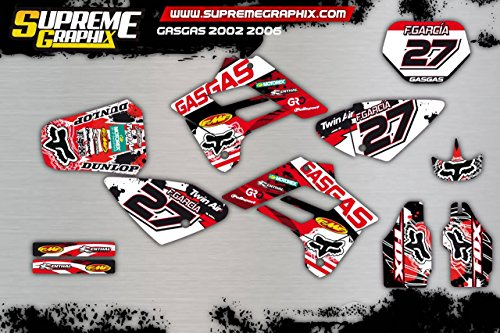 Kit Adhesivos Gas Gas 2002 2006 ADESIVY Stickers